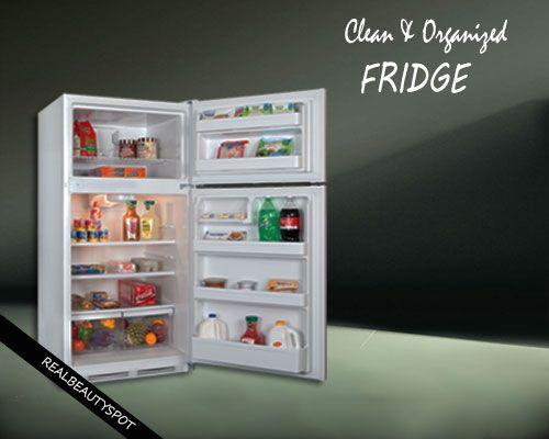Gardez votre réfrigérateur propre et bien organisé