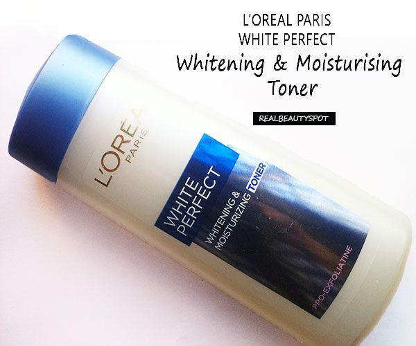 Fotografía - L'Oréal Paris blanchiment blanc parfait et hydratante toner