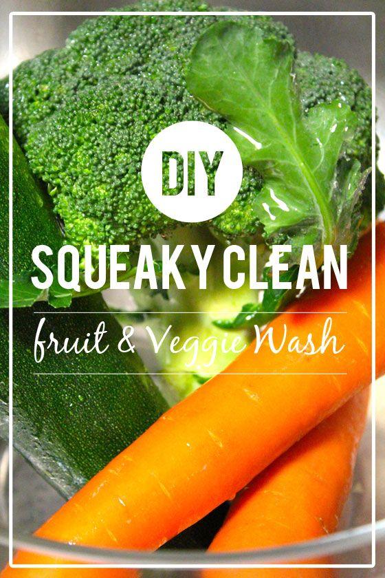 Fotografía - Faites vos propres fruits et légumes Wash