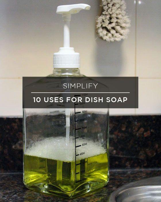 Fotografía - Plusieurs façons d'utiliser Savon à vaisselle