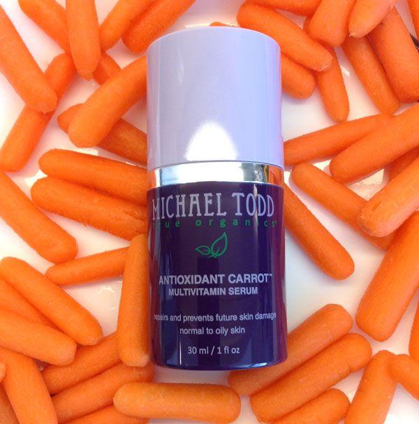 michael todd sérum carotte multivitamines antioxydant mon lapin de beauté