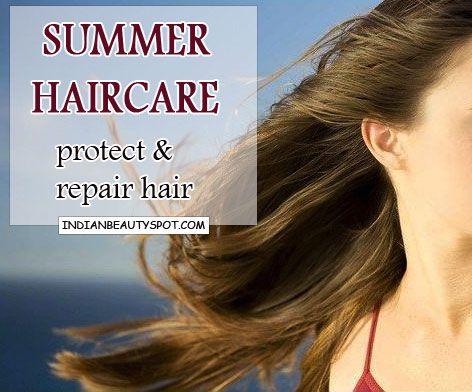 Fotografía - Conseils capillaires d'été - protéger et réparer les cheveux du soleil