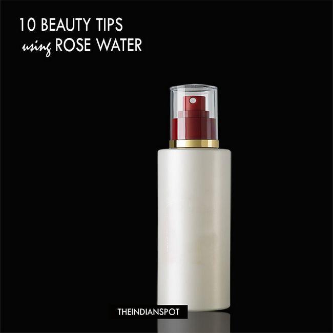 10 meilleurs conseils de beauté en utilisant l'eau de rose