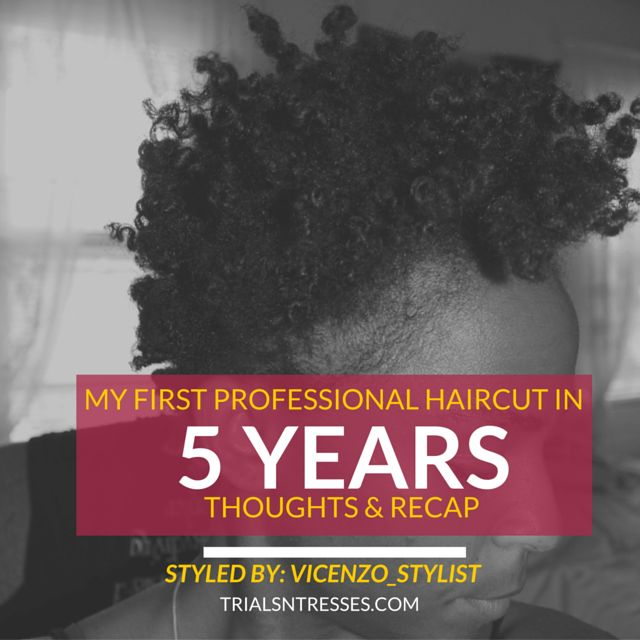 Fotografía - My First Professional Hair Cut en 5 ans