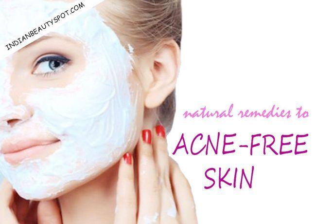 Fotografía - Les remèdes naturels pour la peau sans acné