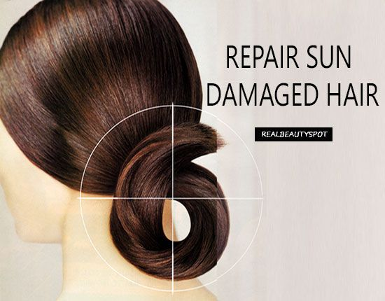 Fotografía - Les remèdes naturels pour réparer les cheveux secs et abîmés soleil