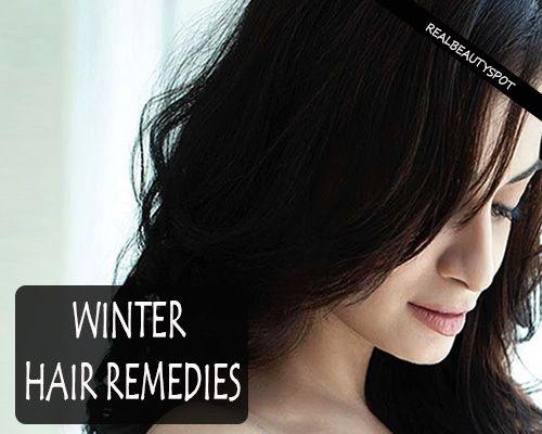 Fotografía - Remèdes de cheveux d'hiver naturel