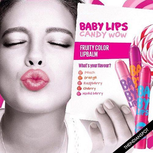 Fotografía - Nouveau lèvres de bébé maybelline bonbons wow
