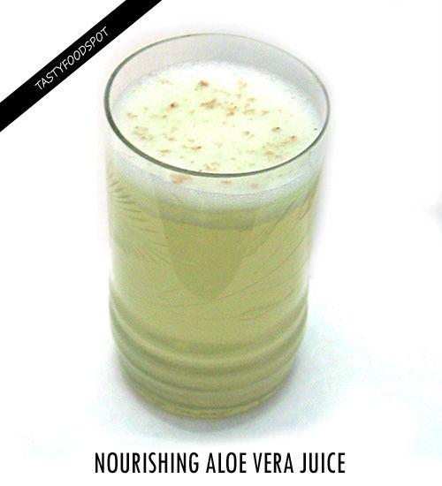 Fotografía - Aloe vera jus Nourrissant recette