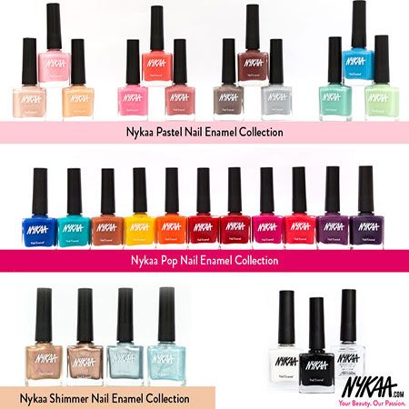 Fotografía - Nykaa collection de vernis à ongles