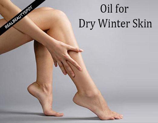 Fotografía - Huile pour la peau sèche en hiver