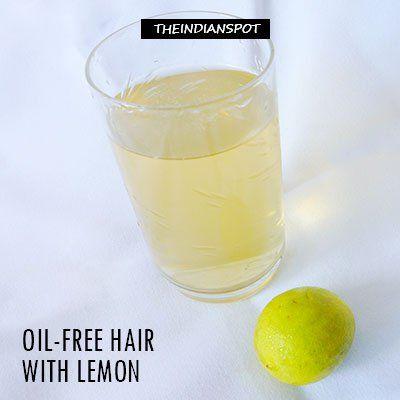 Pétrole - cheveux gratuite au citron