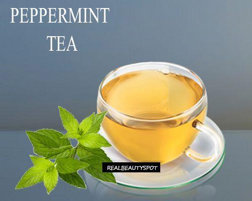Avantages de thé de menthe poivrée, les usages et les remèdes