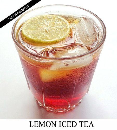 Fotografía - Rafraîchissant citron thé glacé recette