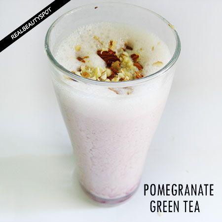 Fotografía - Grenade thé vert rafraîchissant recette de smoothie