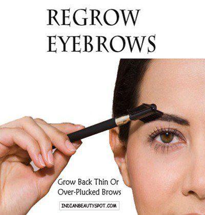 Fotografía - Repousser les sourcils - repousser les sourcils minces ou trop pincées