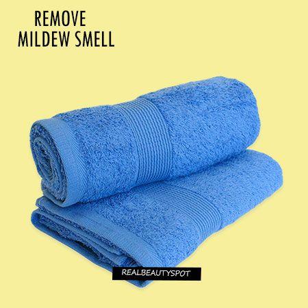 Fotografía - Enlever la moisissure odeur de serviettes et les vêtements