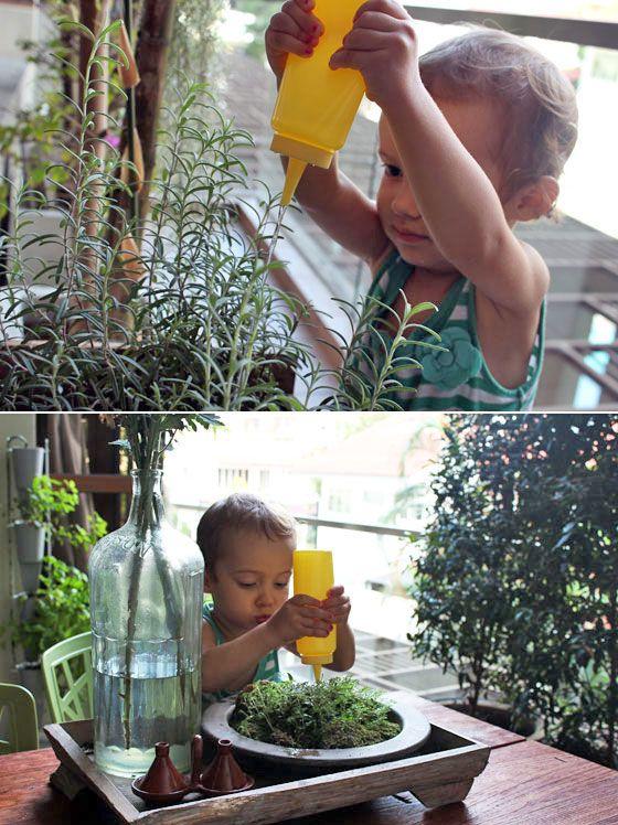 Fotografía - Réutilisation bouteilles de condiments en jouets