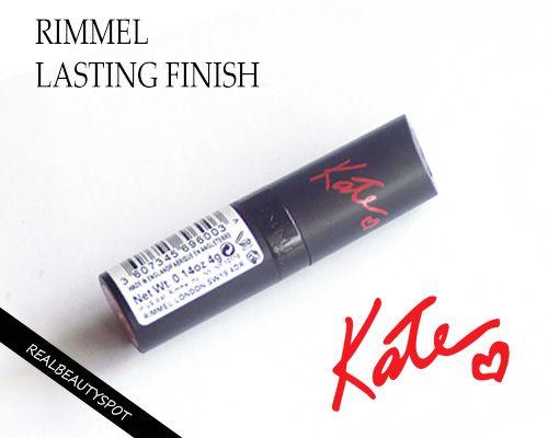 Fotografía - Rimmel durable fini par Kate Moss rouge à lèvres 05