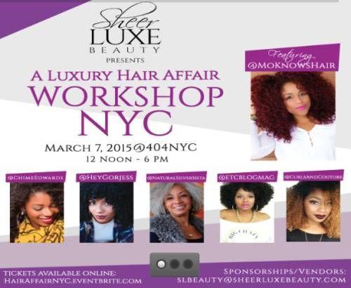 Fotografía - SheerLuxeBeauty présente un luxe cheveux Affair Atelier NYC