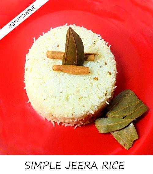 Fotografía - Jeera simple et facile recette de riz