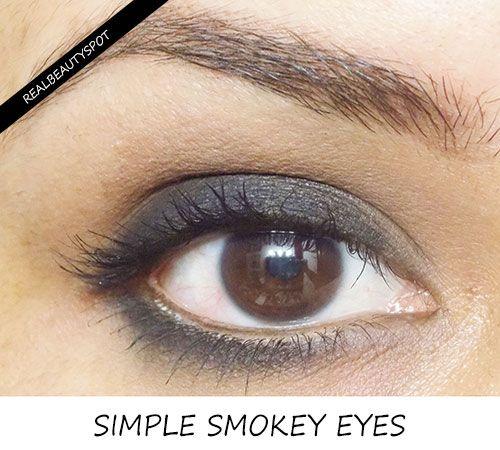 SIMPLE SMOKEY EYES TUTORIAL