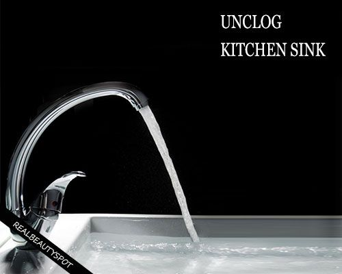 Fotografía - Trucs simples pour désengorger un évier de cuisine