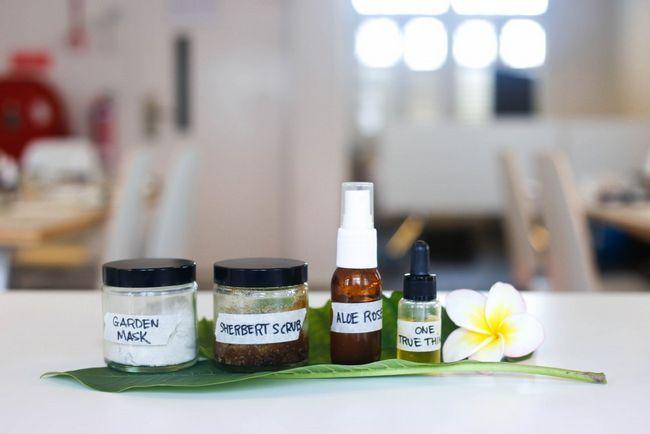 Produits de soins naturels aux ateliers de la peau simplifier
