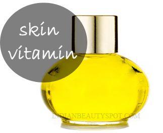 Fotografía - La vitamine de la peau - une peau jeune