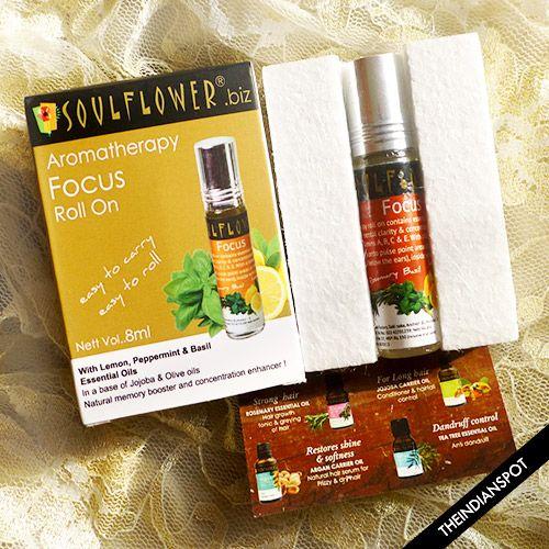 Fotografía - Soulflower rouleau aromathérapie de mise au point sur l'examen