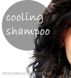 Fotografía - Shampooing cheveux de refroidissement d'été