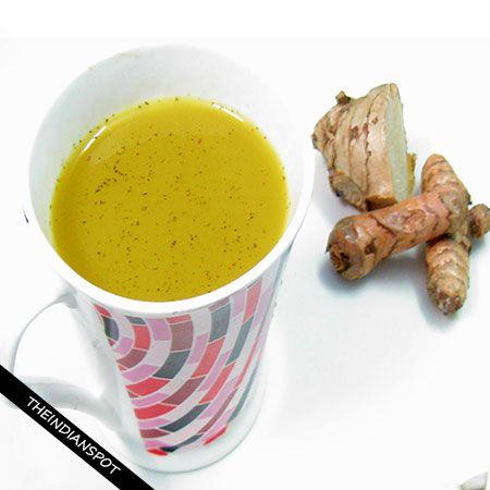 Fotografía - Gingembre Super guérison thé de curcuma recette