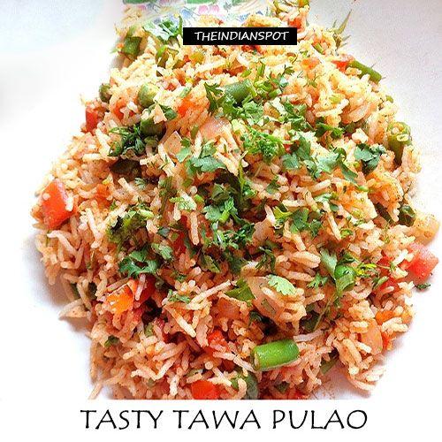 Fotografía - Tawa Tasty pulao recette