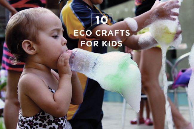 Fotografía - Dix été Eco Crafts vos enfants vont adorer!