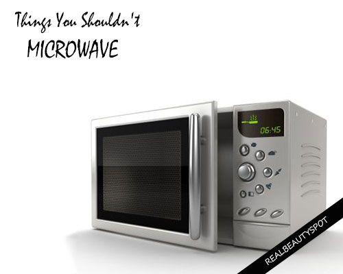Fotografía - Choses que vous ne devriez jamais micro-ondes