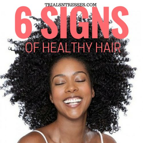 Fotografía - Top 6 des signes de cheveux sains