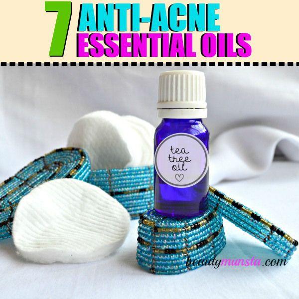 Fotografía - Top 7 des huiles essentielles pour le traitement de l'acné