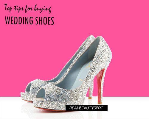 Top Conseils pour l'achat des chaussures de mariage