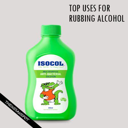 Fotografía - Top utilisations pour l'alcool à friction