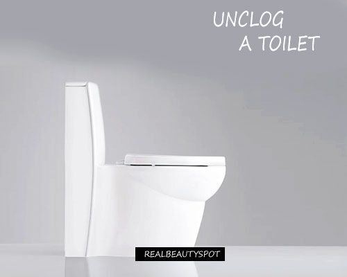 Fotografía - Déboucher une toilette bouché sans plongeur