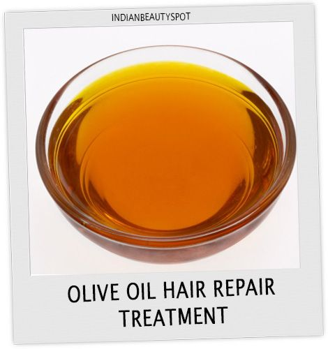 Fotografía - Annuler les cheveux endommagés avec le traitement de l'huile naturelle des cheveux