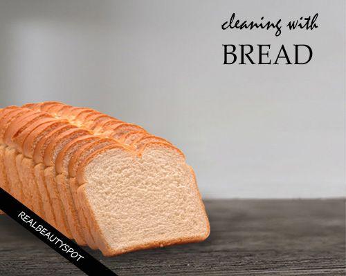 Fotografía - Utilisez le pain pour le nettoyage
