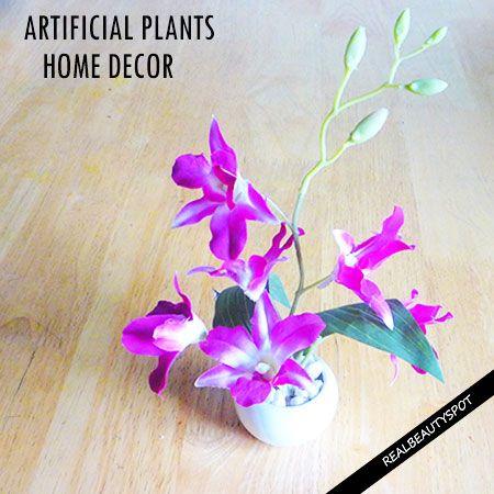 Fotografía - Façons d'utiliser les plantes artificielles autour de la maison