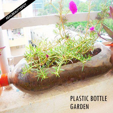 Fotografía - Façons d'utiliser des bouteilles en plastique supplémentaires autour de la maison