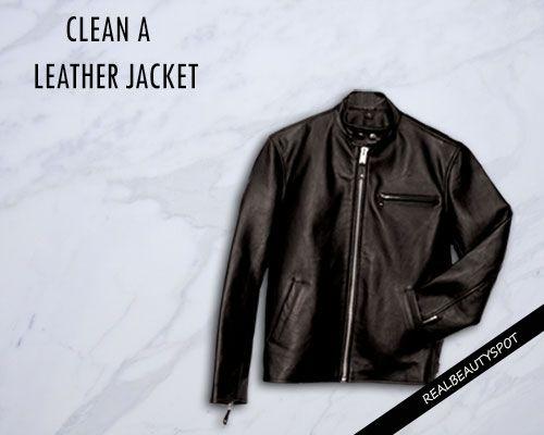 Fotografía - Façons de nettoyer une veste en cuir