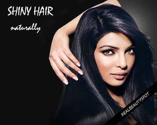 Fotografía - Les façons d'obtenir des cheveux sains et brillants naturellement
