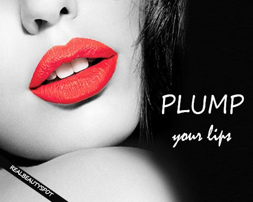 Fotografía - Moyens pour repulper vos lèvres naturellement