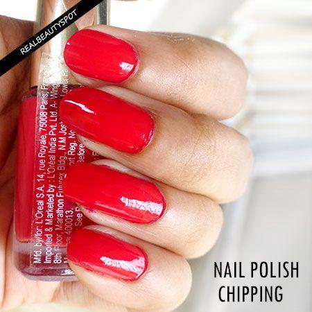 Moyens de prévenir ongles Chipping