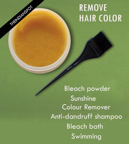 Fotografía - Façons de supprimer la couleur des cheveux facilement