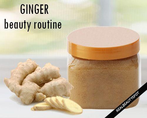 Fotografía - Façons d'utiliser le gingembre dans les traitements de beauté maison